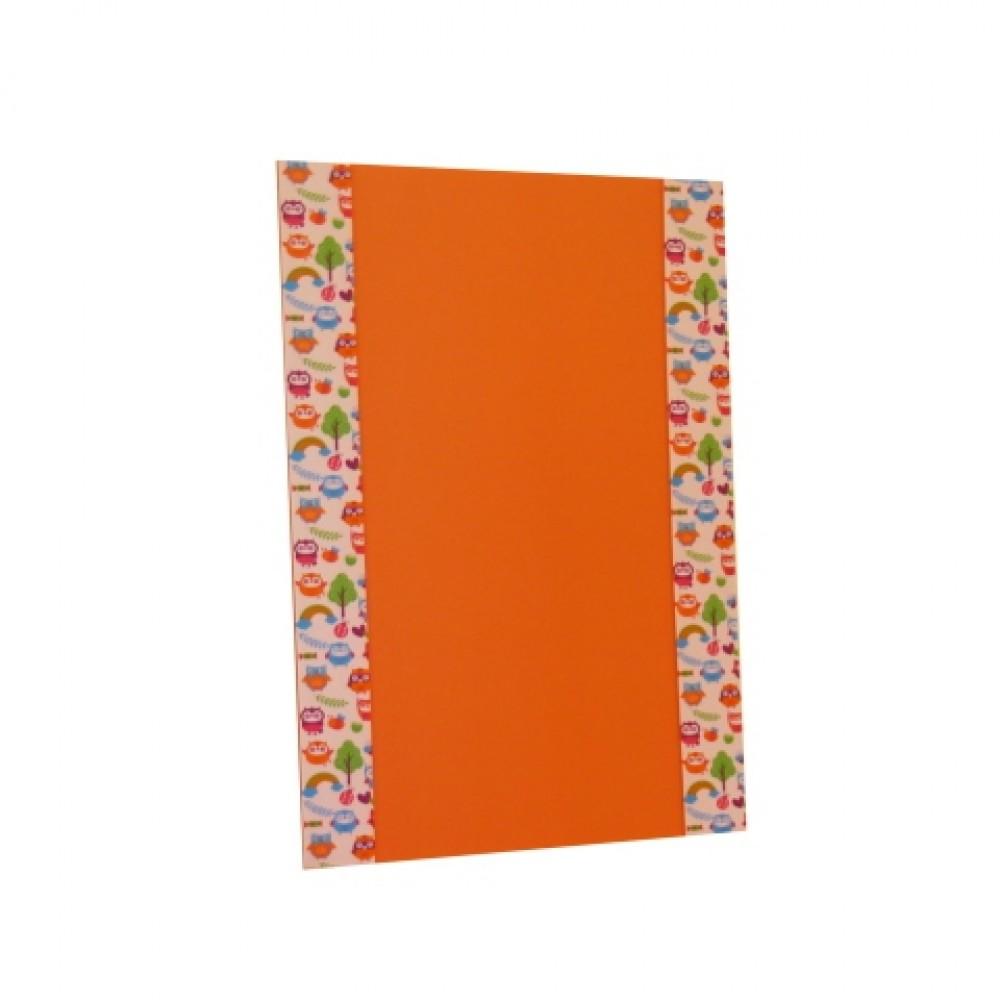 Orange Hoarding
