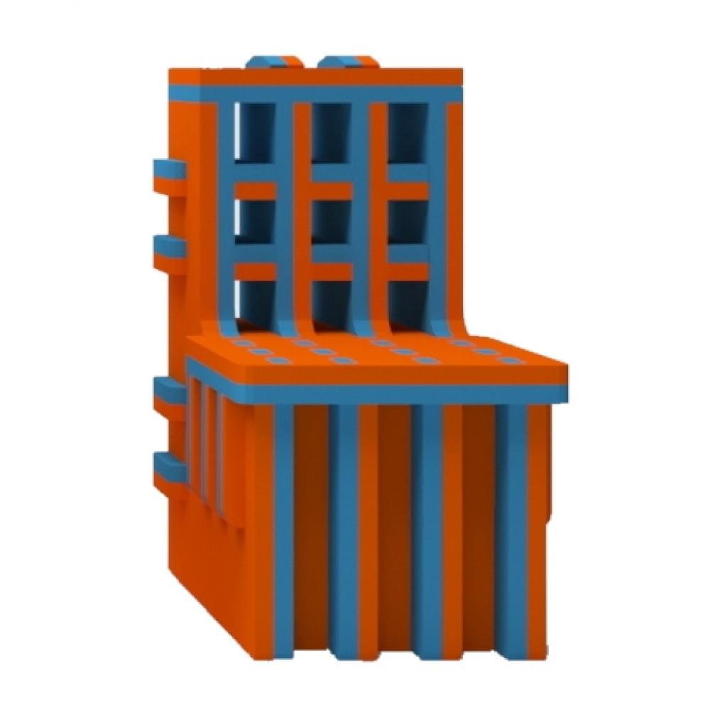 Orange/Blue Chair