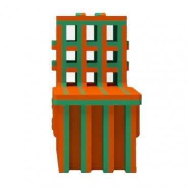 Orange/Green Chair