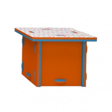 Orange/Blue Storage Box
