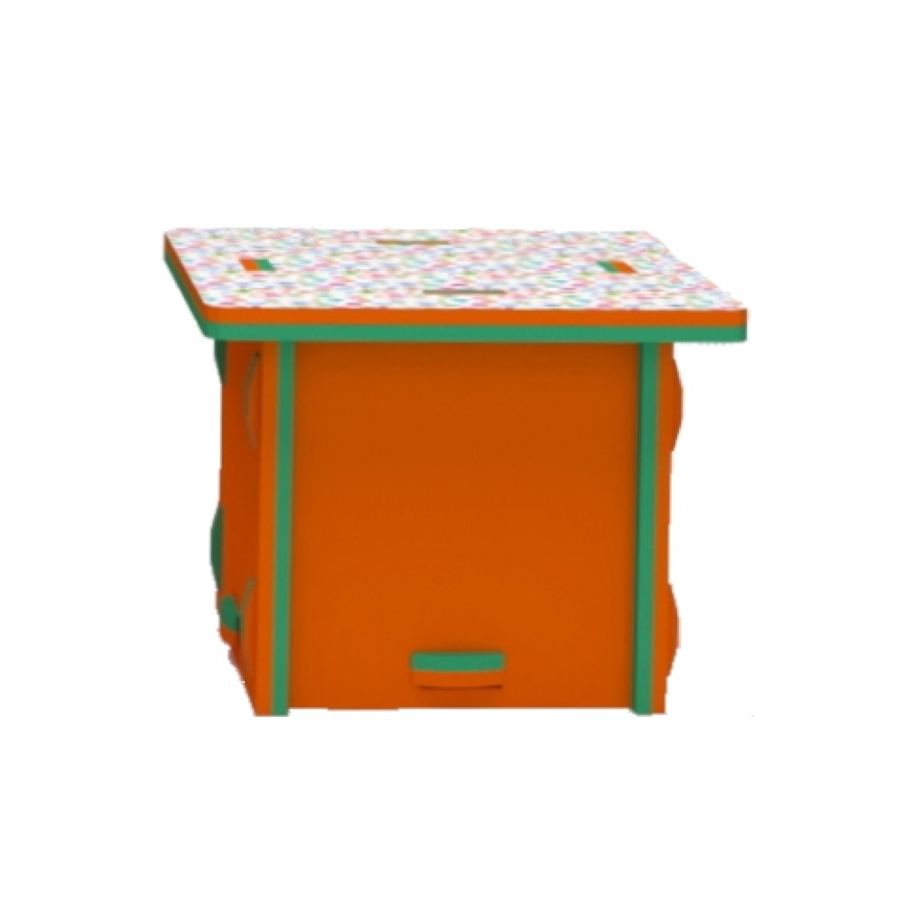 Orange/Green Storage Box