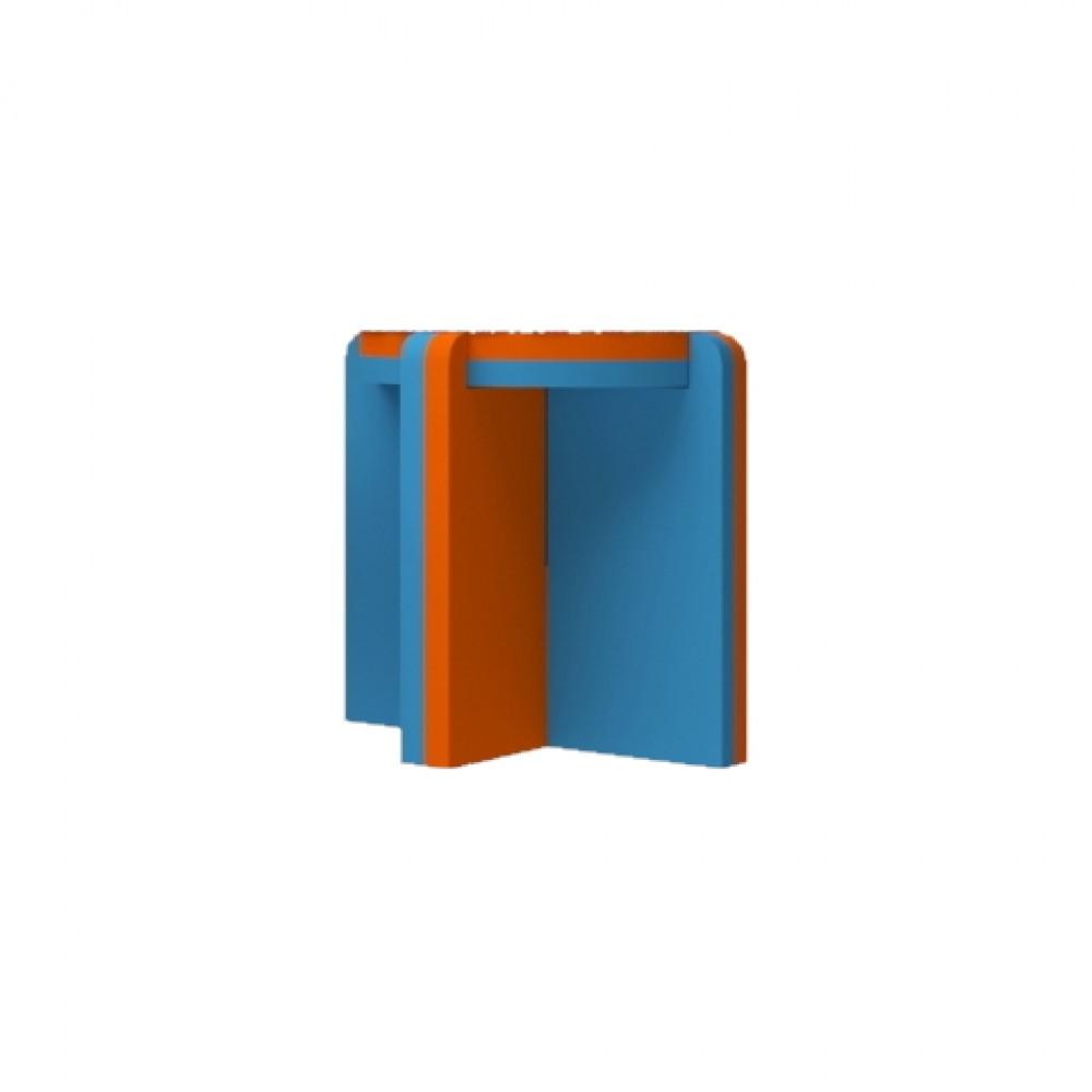Orange/Blue Stool