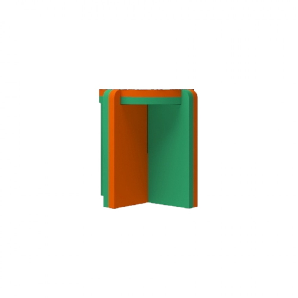 Orange/Green Stool