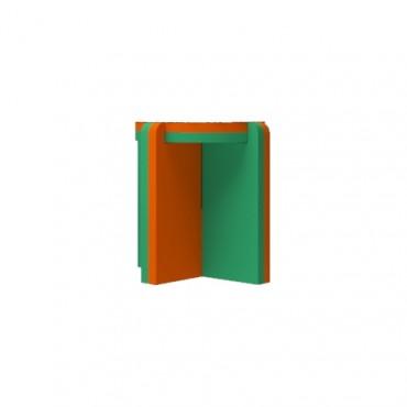 Orange/Green Stool