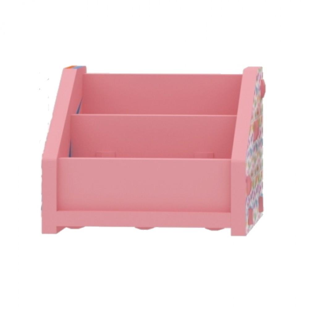 Pink Horizontal Bookcase